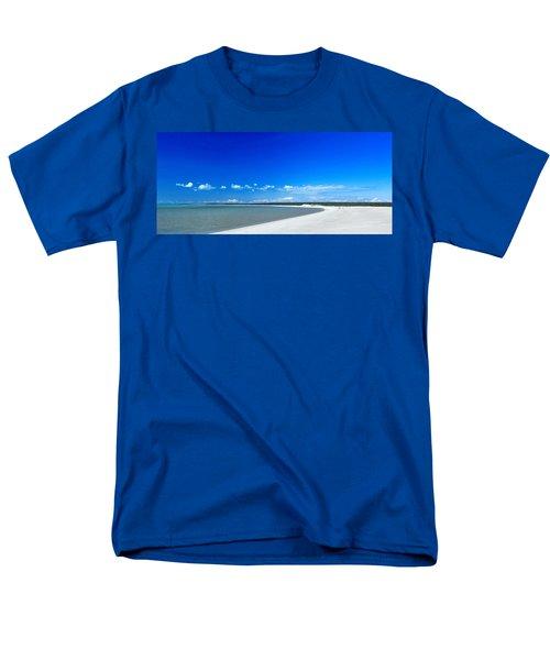 Men's T-Shirt  (Regular Fit) featuring the photograph Shell Beach by Yew Kwang