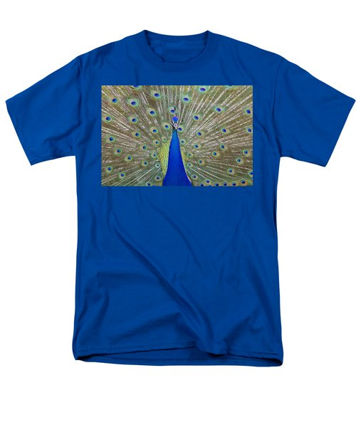 Men's T-Shirt  (Regular Fit) featuring the pyrography Showing Off by Shoal Hollingsworth