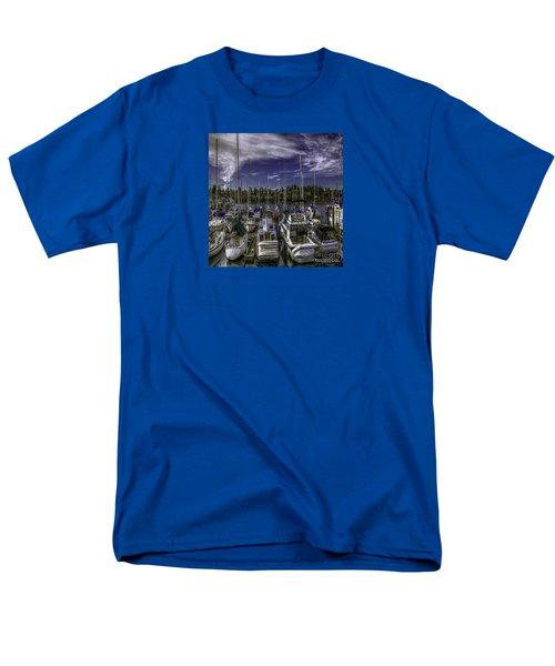 Men's T-Shirt  (Regular Fit) featuring the photograph Sky Embrace by Jean OKeeffe Macro Abundance Art