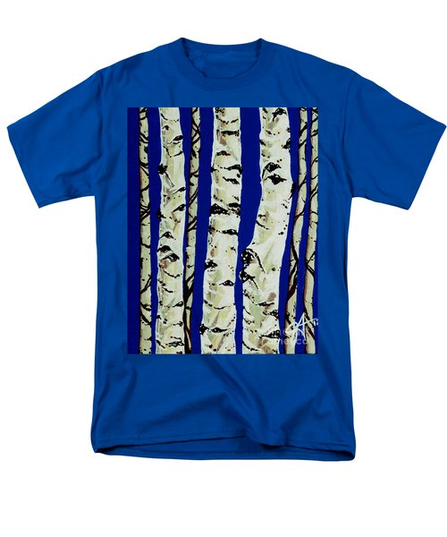 Men's T-Shirt  (Regular Fit) featuring the painting Sleeping Giants by Jackie Carpenter