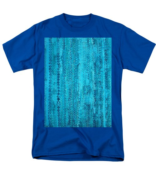 Some Call It Rain Original Painting Men's T-Shirt  (Regular Fit) by Sol Luckman