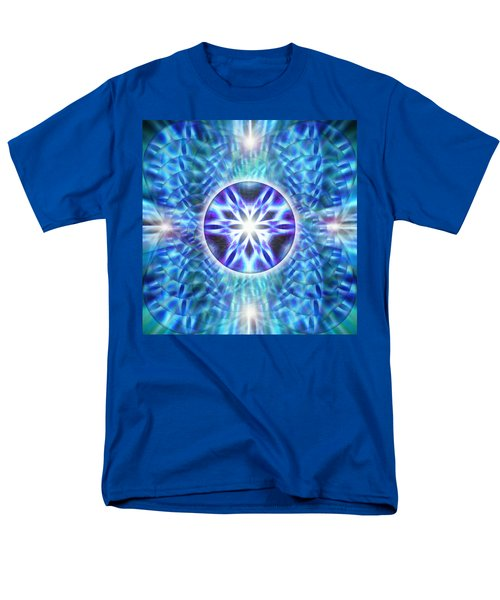 Men's T-Shirt  (Regular Fit) featuring the drawing Spiral Compassion by Derek Gedney