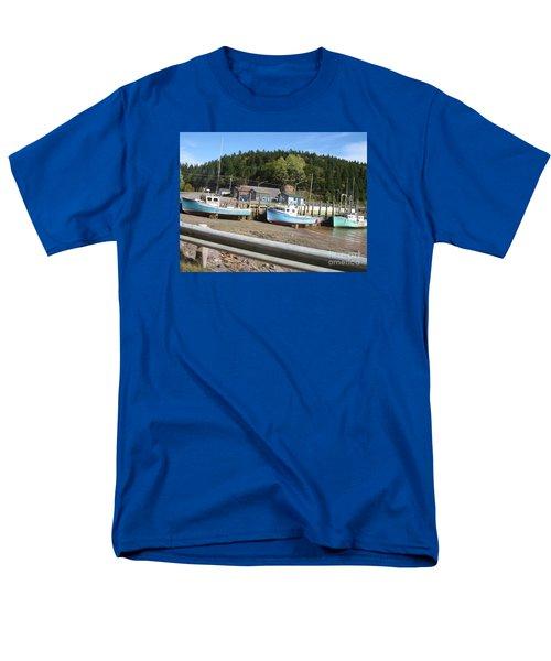 St-martin's Fishing Fleet Men's T-Shirt  (Regular Fit) by Francine Heykoop