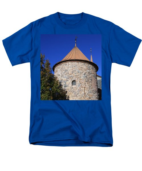 Stone Tower Men's T-Shirt  (Regular Fit) by Chris Thomas