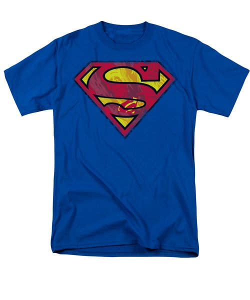 Superman - Action Shield Men's T-Shirt  (Regular Fit) by Brand A