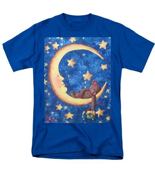 Teddy Bear Dreams Men's T-Shirt  (Regular Fit) by Megan Walsh