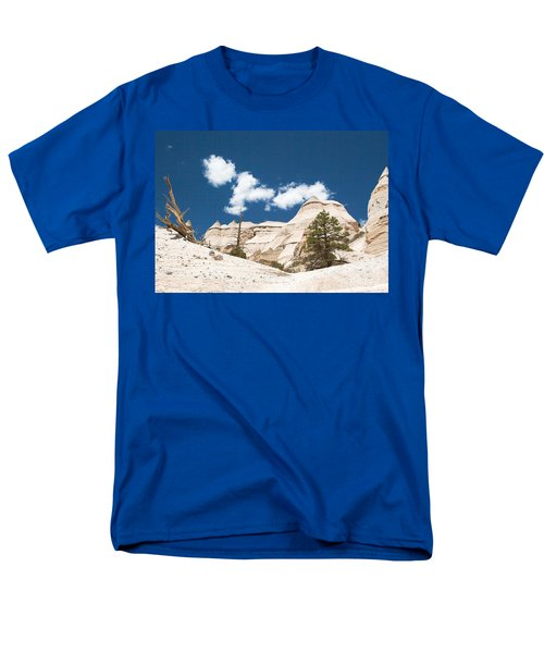 Men's T-Shirt  (Regular Fit) featuring the photograph High Noon At Tent Rocks by Roselynne Broussard