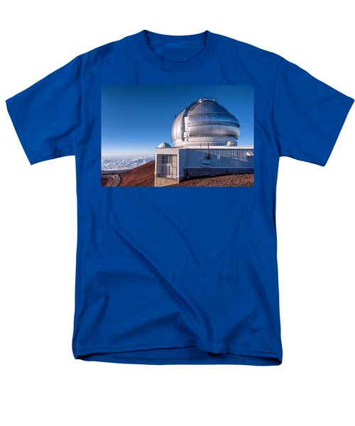 Men's T-Shirt  (Regular Fit) featuring the photograph The Gemini Observatory by Jim Thompson