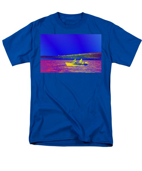 Men's T-Shirt  (Regular Fit) featuring the photograph The Lazy Sunday Afternoon by David Pantuso