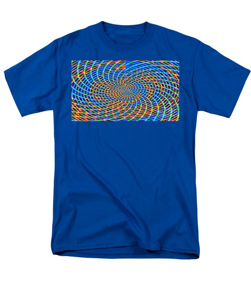 Men's T-Shirt  (Regular Fit) featuring the painting The Network by Roz Abellera Art
