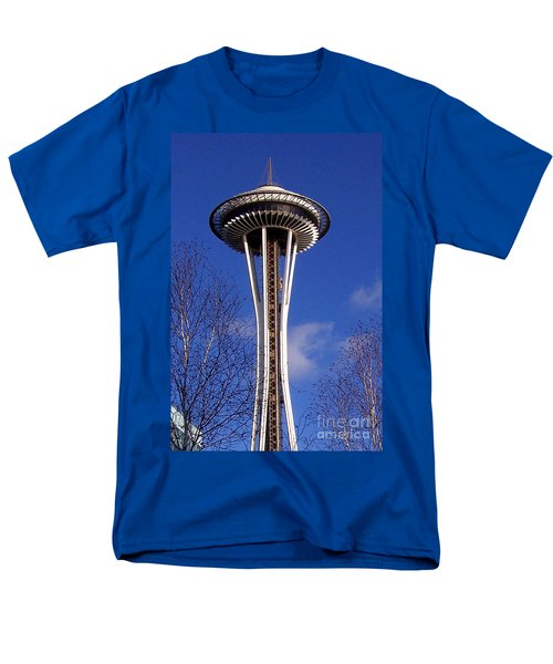 Men's T-Shirt  (Regular Fit) featuring the photograph The Symbol Of Seattle by Kathy  White