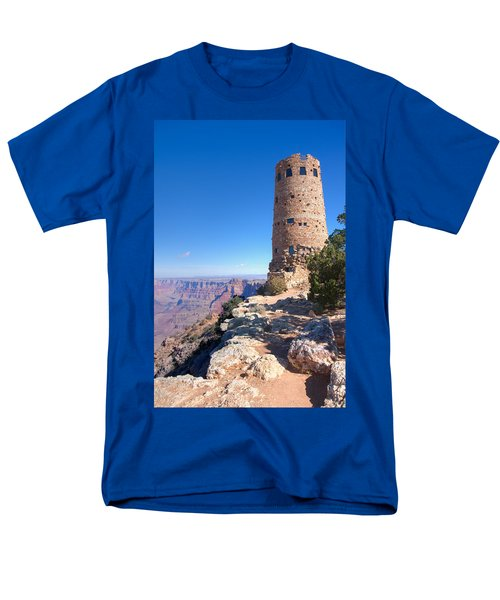 Men's T-Shirt  (Regular Fit) featuring the photograph The Watchtower by John M Bailey
