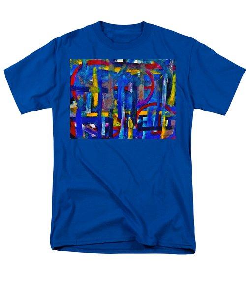 Anchored In Art Men's T-Shirt  (Regular Fit) by Lisa Kaiser
