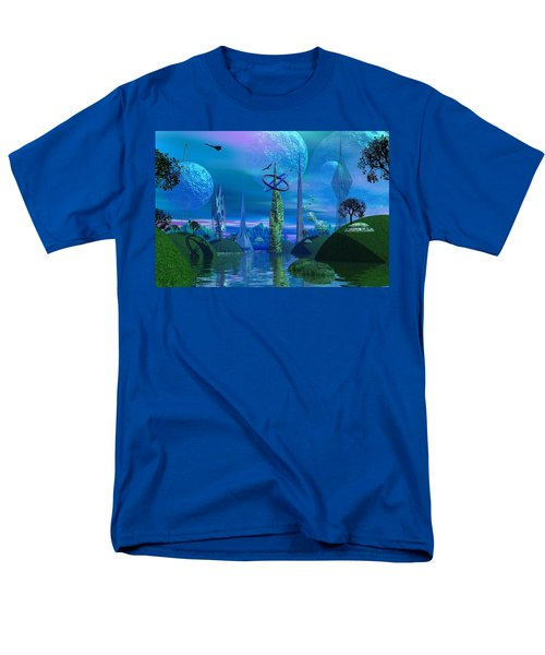 Tower Of Hurn Men's T-Shirt  (Regular Fit) by Mark Blauhoefer