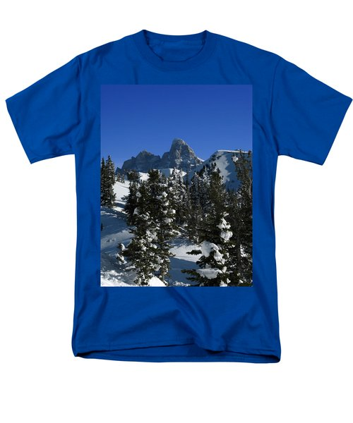 Men's T-Shirt  (Regular Fit) featuring the photograph Towering Above Lies The Grand by Raymond Salani III
