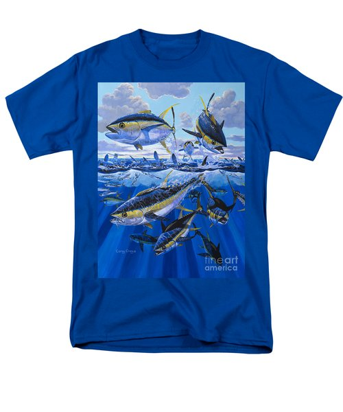 Tuna Rampage Off0018 Men's T-Shirt  (Regular Fit) by Carey Chen