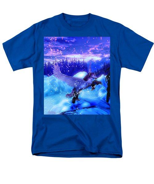 Unicorn Men's T-Shirt  (Regular Fit) by David Mckinney