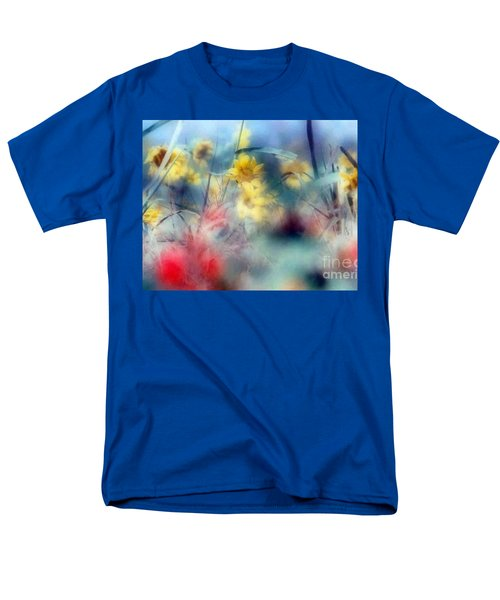 Men's T-Shirt  (Regular Fit) featuring the photograph Urban Wildflowers by Michael Hoard