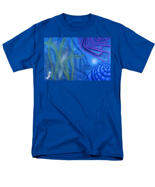 Watery Men's T-Shirt  (Regular Fit) by Susan Will