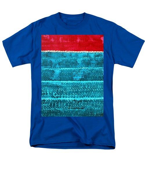 Waves Original Painting Men's T-Shirt  (Regular Fit) by Sol Luckman