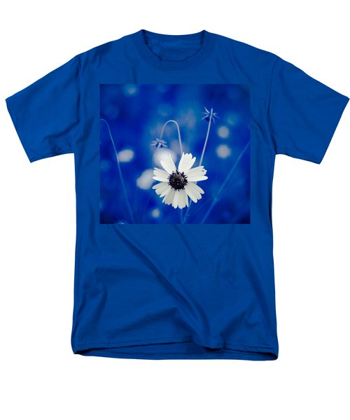 White Flower Men's T-Shirt  (Regular Fit) by Darryl Dalton