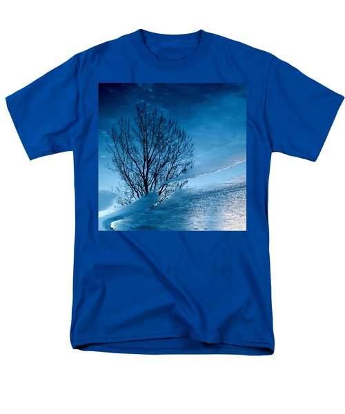 Winter Reflections Men's T-Shirt  (Regular Fit) by Don Spenner