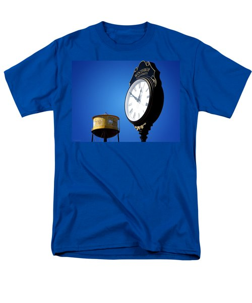 Men's T-Shirt  (Regular Fit) featuring the photograph Winthrop Time by Greg Simmons