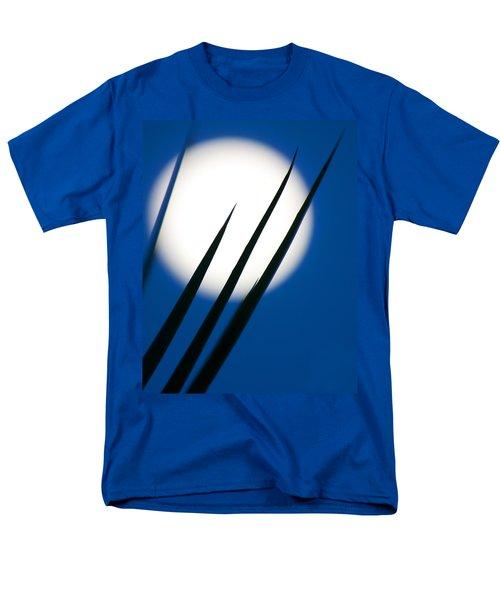 Men's T-Shirt  (Regular Fit) featuring the photograph Yucca Moon by Jim Garrison