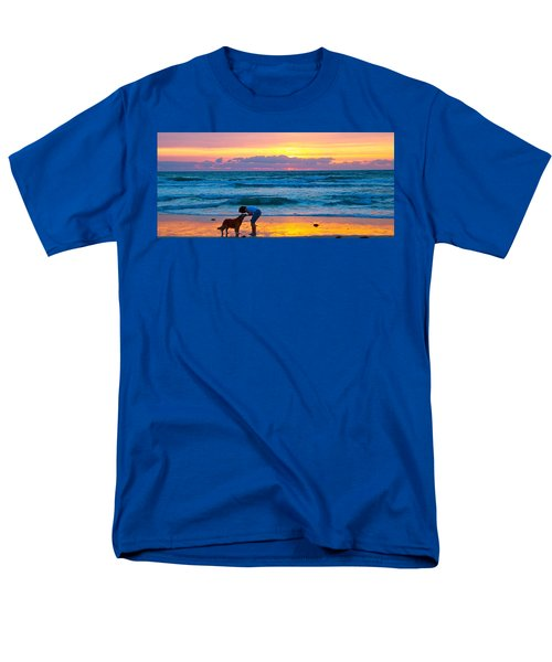 Men's T-Shirt  (Regular Fit) featuring the photograph Bella At Sunrise by Alice Gipson