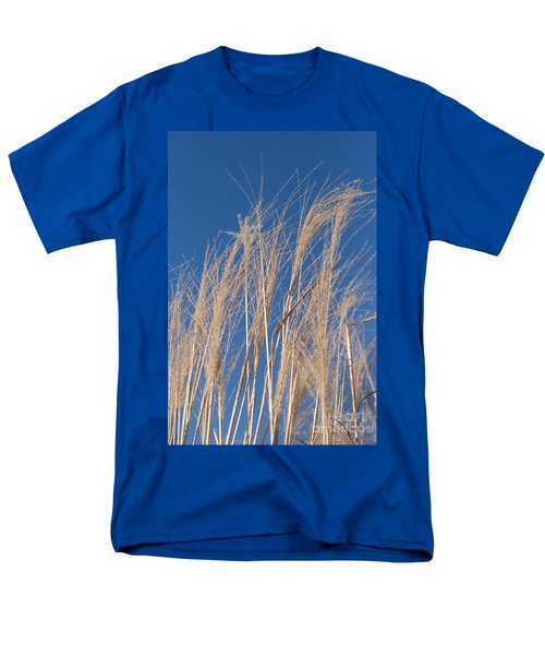 Men's T-Shirt  (Regular Fit) featuring the photograph Blowing In The Wind by Barbara McMahon