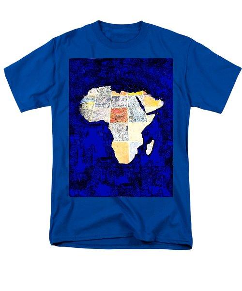 Men's T-Shirt  (Regular Fit) featuring the photograph Blue Africa by Anne Mott