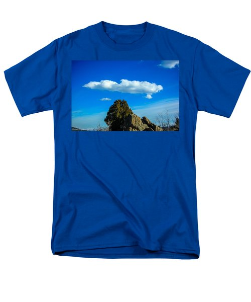 Men's T-Shirt  (Regular Fit) featuring the photograph Blue Skies by Shannon Harrington
