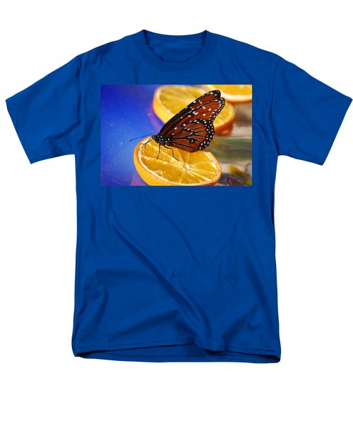 Men's T-Shirt  (Regular Fit) featuring the photograph Butterfly Nectar by Tam Ryan