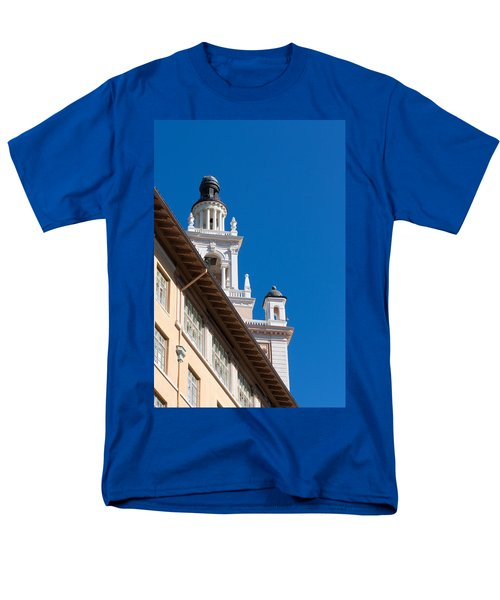 Men's T-Shirt  (Regular Fit) featuring the photograph Coral Gables Biltmore Hotel Tower by Ed Gleichman