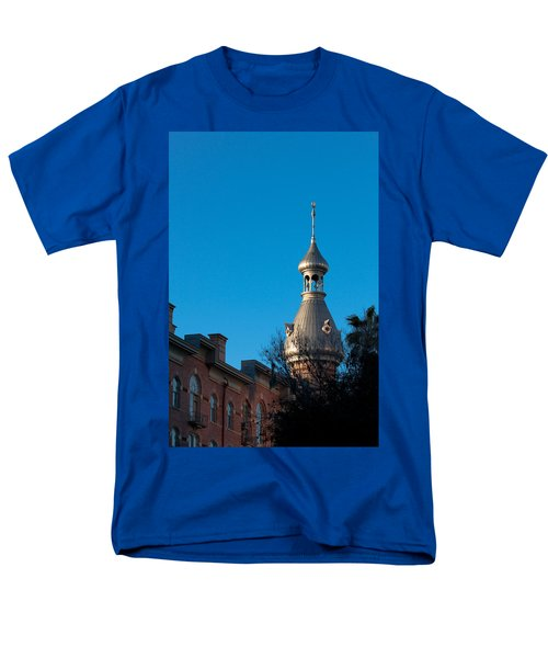 Men's T-Shirt  (Regular Fit) featuring the photograph Facade And Minaret by Ed Gleichman