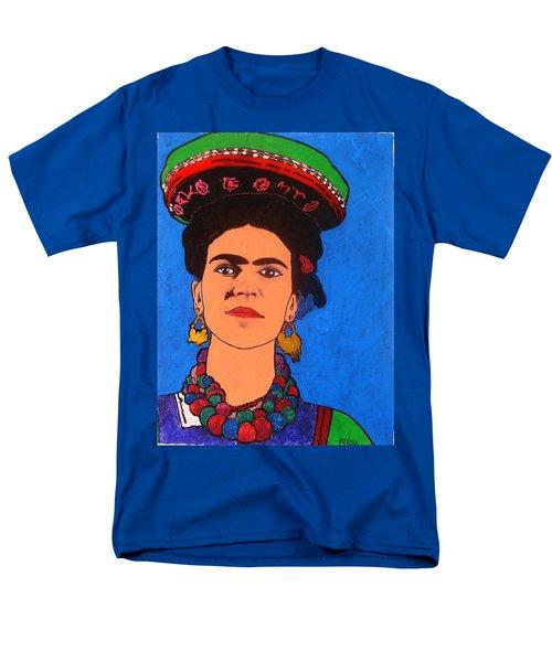 Frida Kahlo Men's T-Shirt  (Regular Fit) by Roberto Prusso