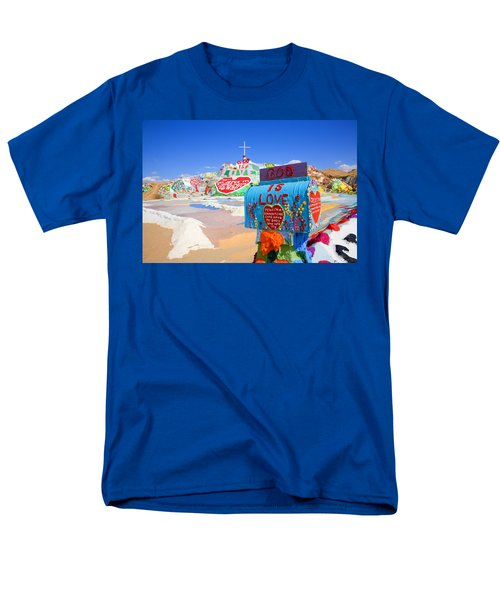 Men's T-Shirt  (Regular Fit) featuring the photograph God's Mailbox by Hugh Smith