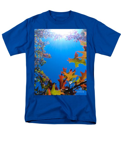 Men's T-Shirt  (Regular Fit) featuring the photograph Happy Autumn by CML Brown