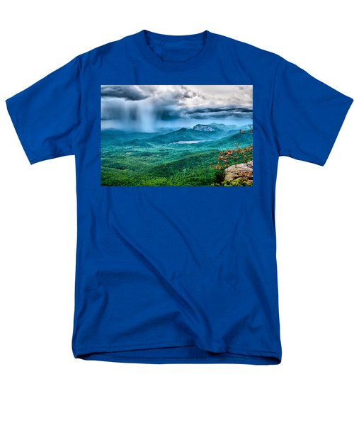 Men's T-Shirt  (Regular Fit) featuring the photograph Incoming Storm by Lynne Jenkins