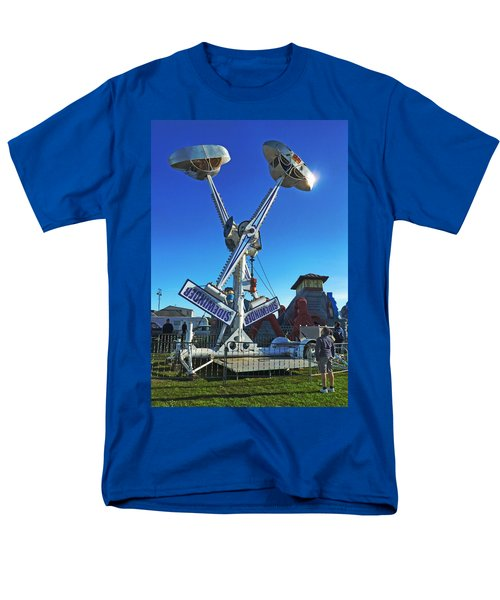 Men's T-Shirt  (Regular Fit) featuring the photograph Into The Blue by Steve Taylor