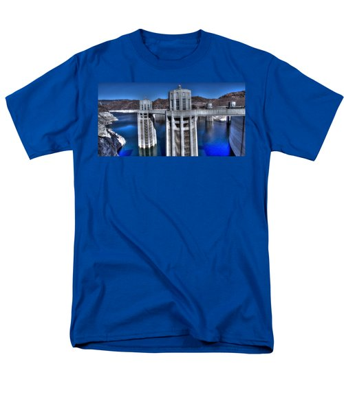 Lake Mead Hoover Dam Men's T-Shirt  (Regular Fit) by Jonathan Davison