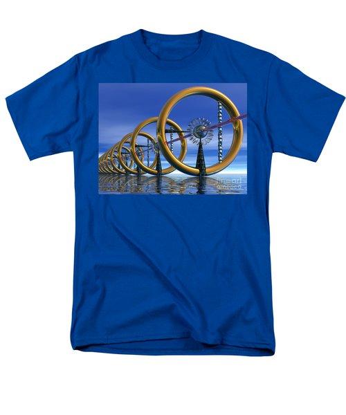 Laser Men's T-Shirt  (Regular Fit)