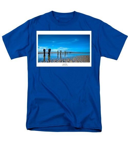 Men's T-Shirt  (Regular Fit) featuring the photograph Low Tide by Beverly Cash