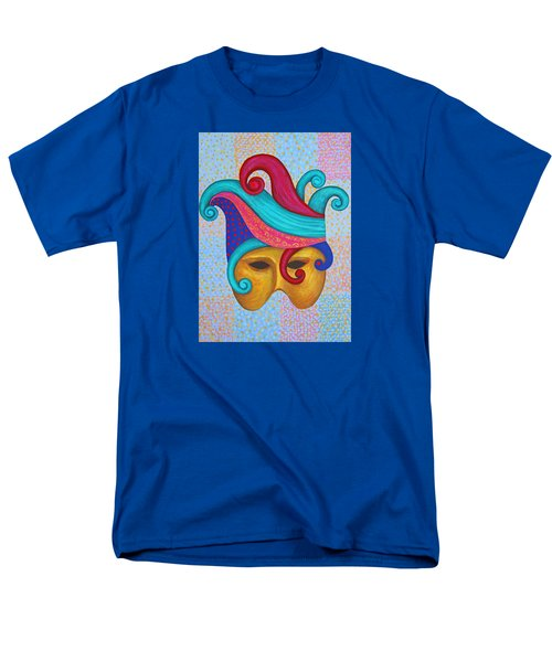 Mask With  Head Dress Men's T-Shirt  (Regular Fit) by Nareeta Martin
