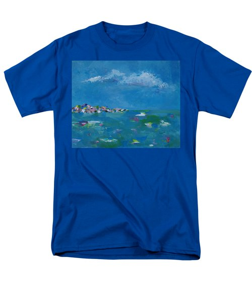 Men's T-Shirt  (Regular Fit) featuring the painting Ocean Delight by Judith Rhue