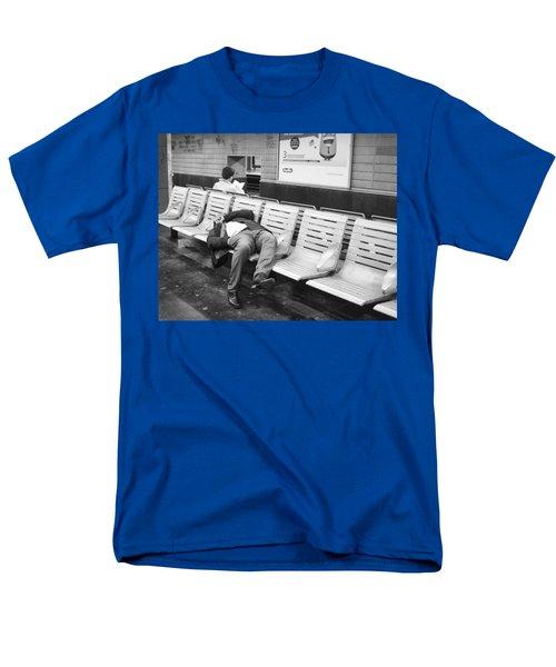 Men's T-Shirt  (Regular Fit) featuring the photograph Paris Metro by Hugh Smith