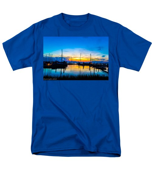 Peacefull Sunset Men's T-Shirt  (Regular Fit) by Shannon Harrington