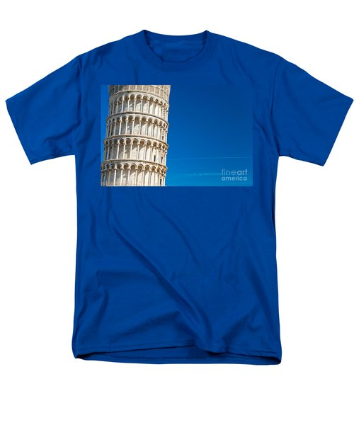 Men's T-Shirt  (Regular Fit) featuring the photograph Pisa Leaning Tower by Luciano Mortula