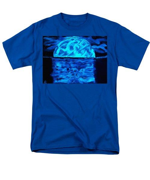 Sea Of Troubles Black Light Men's T-Shirt  (Regular Fit) by Lisa Brandel