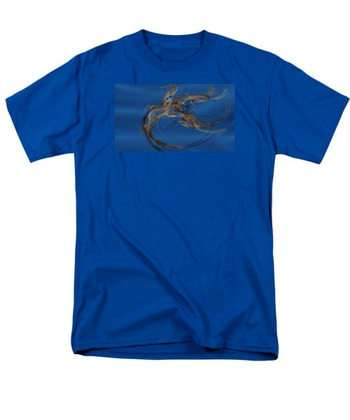 Men's T-Shirt  (Regular Fit) featuring the digital art Selbstvertrauen by Jeff Iverson